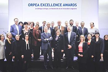 Orpea Excellence Award festliche Gruppe